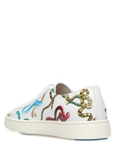Santoni Lifestyle Ayakkabı Beyaz